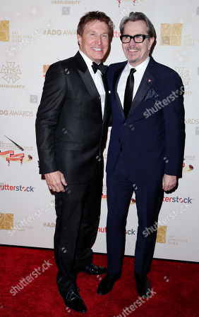 Stock Photo of Nelson Coates and Gary Oldman