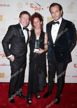 Nelson Coates, Julie Berghoff and Will Arnett