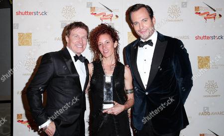 Nelson Coates, Julie Berghoff and Will Arnett