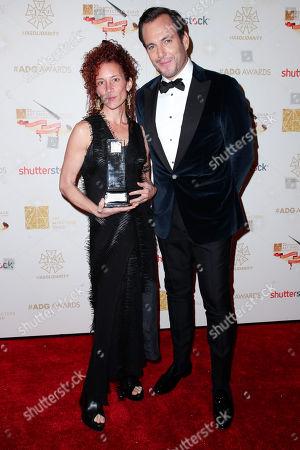 Julie Berghoff and Will Arnett