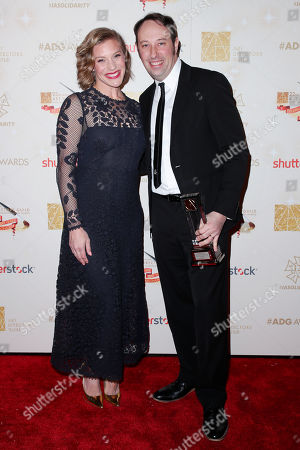 Katee Sackhoff and Schuyler Telleen