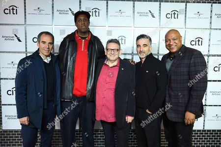 Monte Lipman, Ronald 'Slim' Williams, Sir Lucian Grainge, Avery Lipman, Bryan 'Birdman' Williams. Monte Lipman, Ronald 'Slim' Williams, Sir Lucian Grainge, Avery Lipman, and Bryan 'Birdman' Williams attend Sir Lucian Grainge's 2018 Artist Showcase presented by American Airlines and Citi on in New York