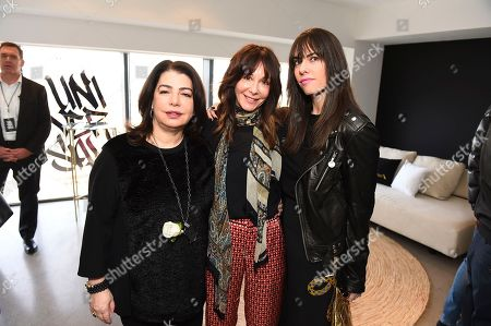 Michele Anthony, Jody Gerson, Michell Jubelirer. From left, Michele Anthony, Jody Gerson and Michell Jubelirer attend Sir Lucian Grainge's 2018 Artist Showcase presented by American Airlines and Citi on in New York