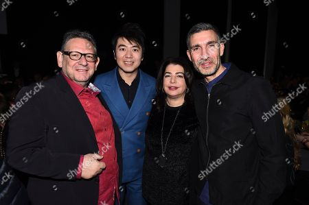 Sir Lucian Grainge, Lang Lang, Michele Anthony, David Joseph. Sir Lucian Grainge, Lang Lang, Michele Anthony and David Joseph attend Sir Lucian Grainge's 2018 Artist Showcase presented by American Airlines and Citi on in New York