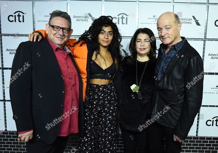 Sir Lucian Grainge, Jessie Reyez, Michele Anthony, David Massey. From left, Sir Lucian Grainge, Jessie Reyez, Michele Anthony and David Massey attend Sir Lucian Grainge's 2018 Artist Showcase presented by American Airlines and Citi on in New York