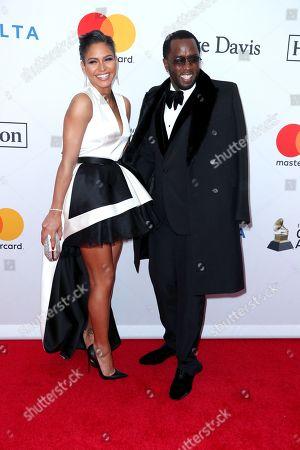 Cassie Ventura and Sean Combs