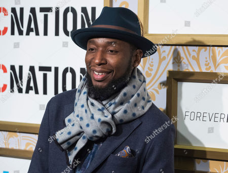 Stock Photo of 9th Wonder attends the Roc Nation pre-Grammy brunch at One World Trade Center, in New York