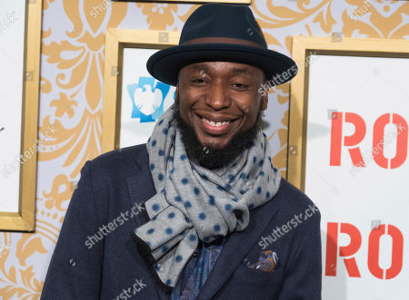 9th Wonder attends the Roc Nation pre-Grammy brunch at One World Trade Center, in New York