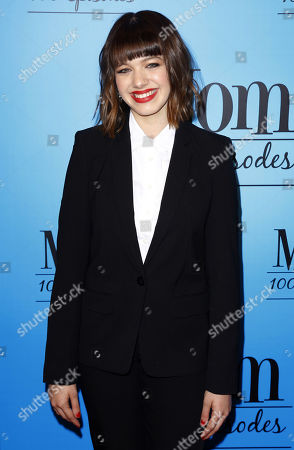 """Sadie Calvano arrives at the """"Mom"""" 100th Episode Celebration, in Los Angeles"""
