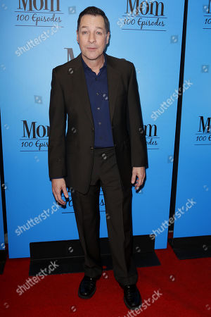 """French Stewart arrives at the """"Mom"""" 100th Episode Celebration, in Los Angeles"""