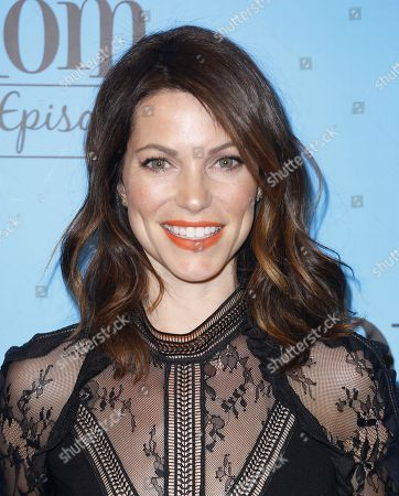 "Courtney Henggeler arrives at the ""Mom"" 100th Episode Celebration, in Los Angeles"