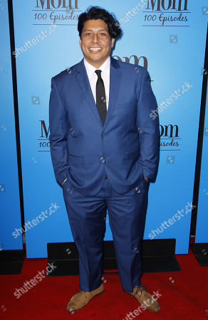 "George Paez arrives at the ""Mom"" 100th Episode Celebration, in Los Angeles"