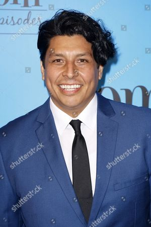 "Stock Photo of George Paez arrives at the ""Mom"" 100th Episode Celebration, in Los Angeles"