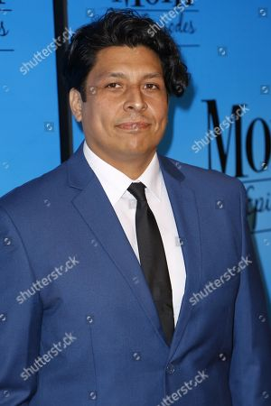 "Stock Picture of George Paez arrives at the ""Mom"" 100th Episode Celebration, in Los Angeles"