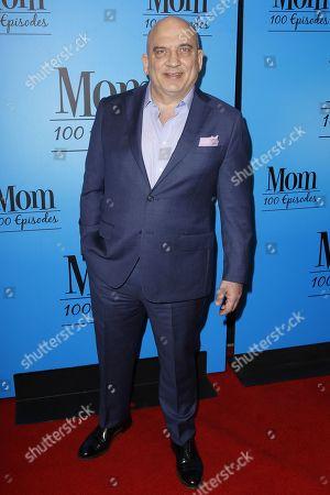 "Jonny Coyne arrives at the ""Mom"" 100th Episode Celebration, in Los Angeles"