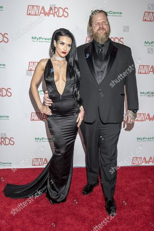 Editorial photo of AVN Awards, Hard Rock Hotel and Casino, Las Vegas, USA - 27 Jan 2018