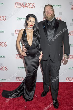 Editorial picture of AVN Awards, Hard Rock Hotel and Casino, Las Vegas, USA - 27 Jan 2018