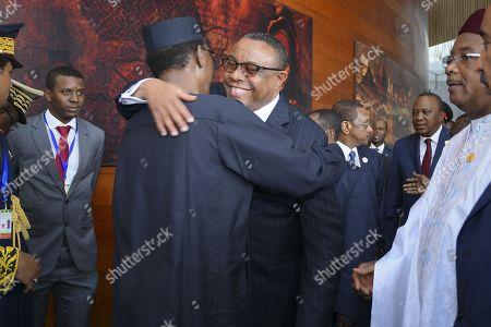 Hailemariam Desalegn and Idriss Deby