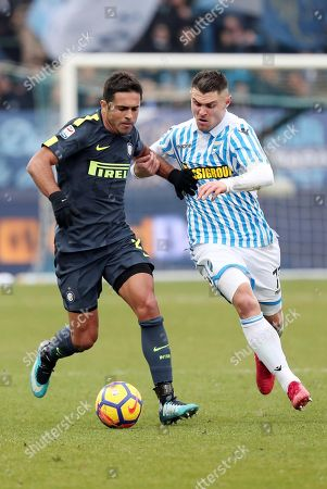 Editorial photo of Spal 2013 vs Inter FC, Ferrara, Italy - 28 Jan 2018