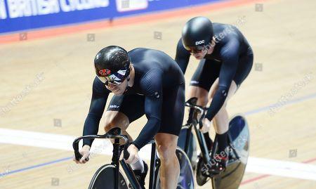 Mens Team Sprint Ryan Owens,  Philip Hindes and Jason Kenny