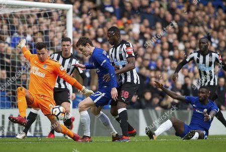 Editorial photo of FA Cup Fourth Round, Chelsea v Newcastle United, Stamford Bridge, London, United Kingdom, 28th January 2018