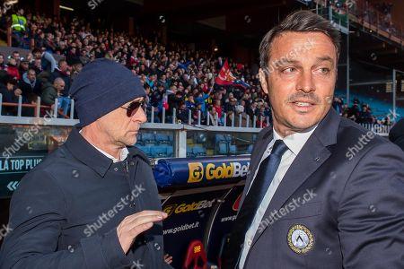 Editorial picture of Genoa CFC vs Udinese Calcio, Italy - 28 Jan 2018