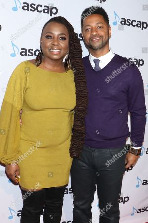 Ledisi and fiance Ron T. Young