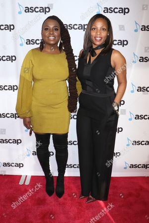 Ledisi and Nicole George-Middleton, ASCAP Membership SVP