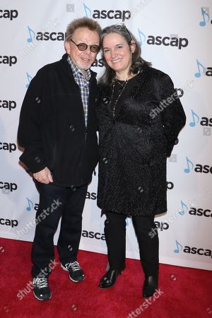 Paul Williams and Lauren Iossa, ASCAP Executive Vice President, Chief Marketing & Communications Officer