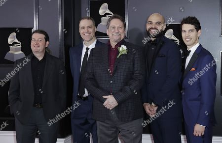 'Jerry Douglas Band' arrives for the 60th annual Grammy Awards ceremony at Madison Square Garden in New York, New York, USA, 28 January 2018.