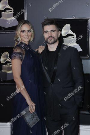 Karen Martinez and Juanes