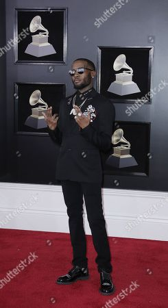 Editorial image of Arrivals - 60th Annual Grammy Awards, New York, USA - 28 Jan 2018