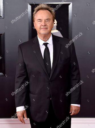 Peter Kater arrives at the 60th annual Grammy Awards at Madison Square Garden, in New York