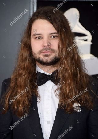 Stock Picture of Brent Cobb arrives at the 60th annual Grammy Awards at Madison Square Garden, in New York