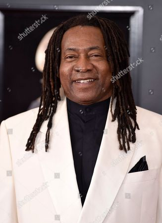 Jimmy Douglass arrives at the 60th annual Grammy Awards at Madison Square Garden, in New York