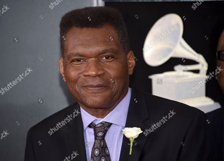 Robert Cray arrives at the 60th annual Grammy Awards at Madison Square Garden, in New York