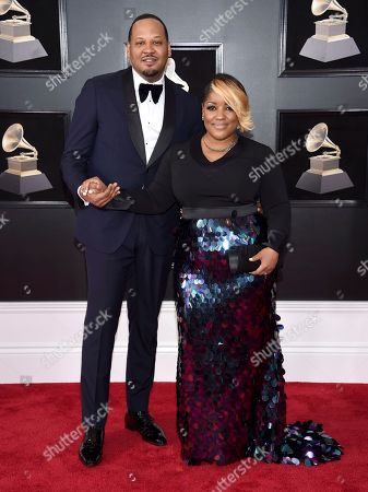 Editorial photo of 60th Annual Grammy Awards - Arrivals, New York, USA - 28 Jan 2018