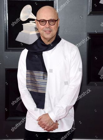John Beasley arrives at the 60th annual Grammy Awards at Madison Square Garden, in New York
