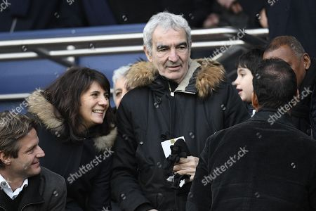 Raymond Domenech and Estelle Denis