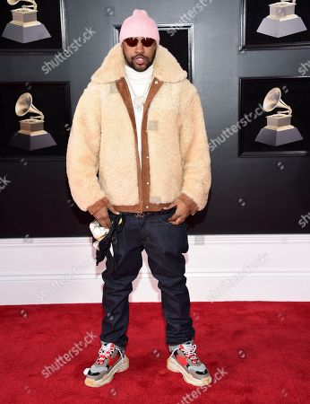 Mike WiLL Made-It arrives at the 60th annual Grammy Awards at Madison Square Garden, in New York
