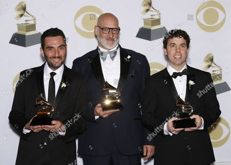 Editorial photo of Press Room - 60th Annual Grammy Awards, New York, USA - 28 Jan 2018