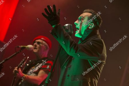 The Damned - Captain Sensible and Dave Vanian