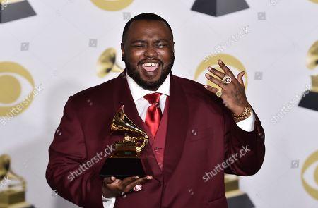 Editorial photo of 60th Annual Grammy Awards - Press Room, New York, USA - 28 Jan 2018