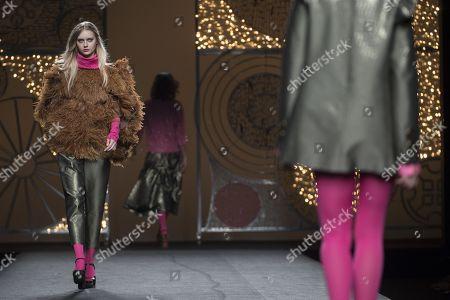 Editorial image of Juana Martin show, Runway, Mercedes Benz Fashion Week Madrid, Spain - 28 Jan 2018