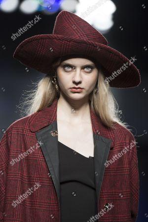 Editorial photo of Ion Fiz show, Runway, Mercedes-Benz Fashion Week, Madrid, Spain - 28 Jan 2018