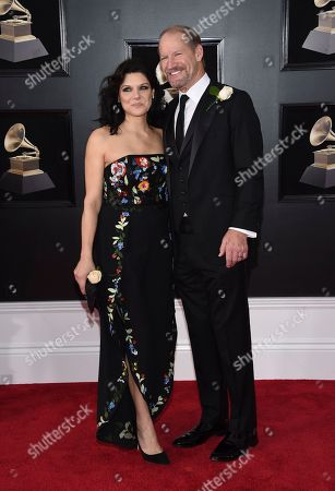 Queen V, Bill Cowher. Queen V, left, and Bill Cowher arrive at the 60th annual Grammy Awards at Madison Square Garden, in New York