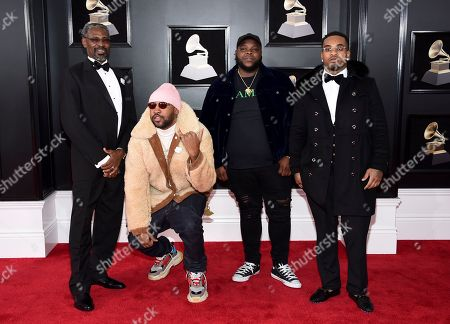 Editorial picture of 60th Annual Grammy Awards - Arrivals, New York, USA - 28 Jan 2018