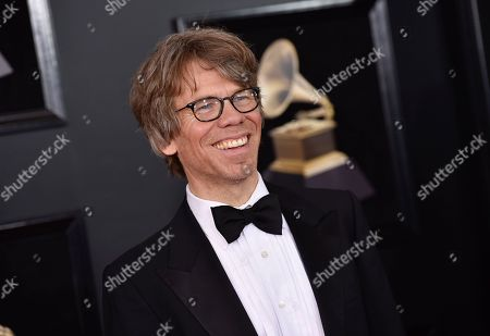 Warren Zanes arrives at the 60th annual Grammy Awards at Madison Square Garden, in New York