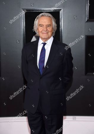 Stock Picture of Musician John McLaughlin arrives at the 60th annual Grammy Awards at Madison Square Garden, in New York