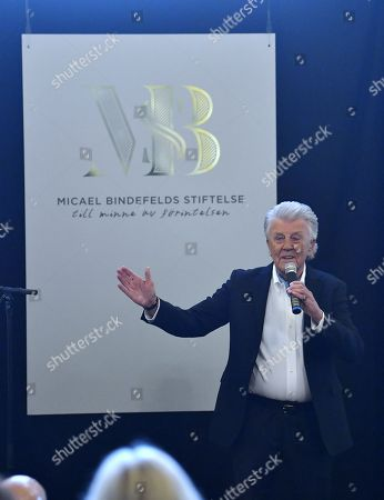 Editorial picture of Micael Bindefeld Foundation in Memory of the Holocaust, Royal Dramatic Theatre, Stockholm, Sweden - 27 Jan 2018